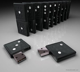 Memoria flash o usb creativa