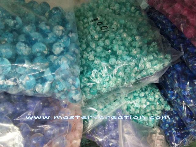 packed decorative balls