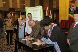 Liputan Wisuda STAI Lukman Edy Di Pangeran Hotel Pekanbaru