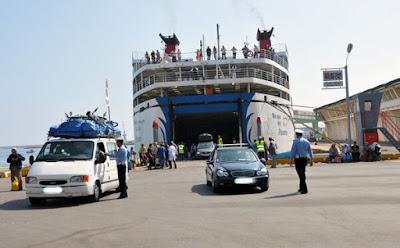 الخط البحري بين مينائي بورتيماو البرتغالي وطنجة المتوسط اصبح جاهز