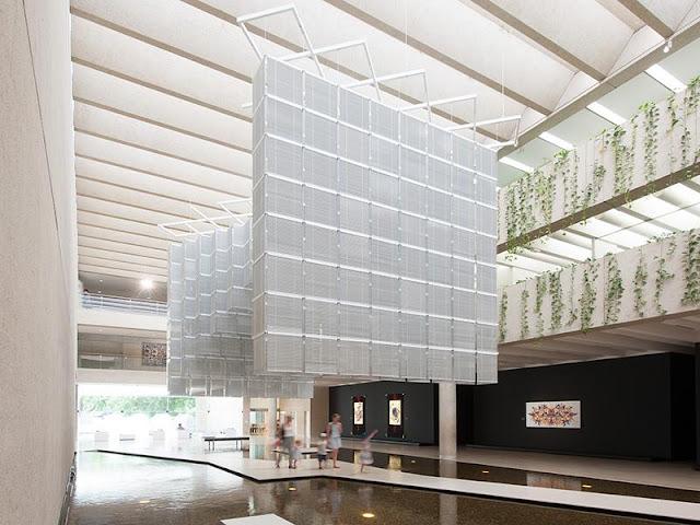 Queensland Gallery of Contemporary Arts Queensland Gallery of Contemporary Arts haegue yang s apt8 installatio