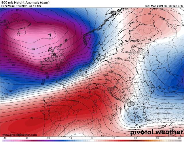 المانيا على موعد مع عاصفة اطلسية قوية مصحوبة بأمطار غزيرة وثلوج واسعة