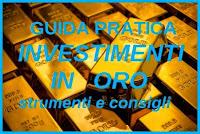 Investire in oro: lingotti, monete, gioielli