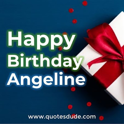 Angeline Funny Happy Birthday.