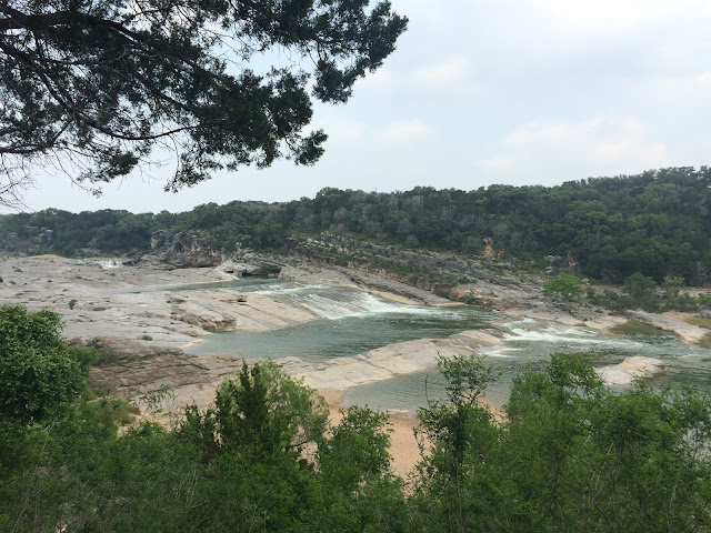 Pedernales Falls - The Other Side of the Road blog