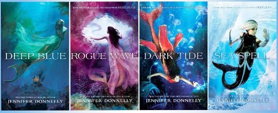 Waterfire Saga - Jennifer Donnelly - books 1-4 #YAfiction