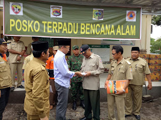 Danrem 162/WB Dampingi Gubernur NTB Tinjau Korban Banjir Lombok Timur