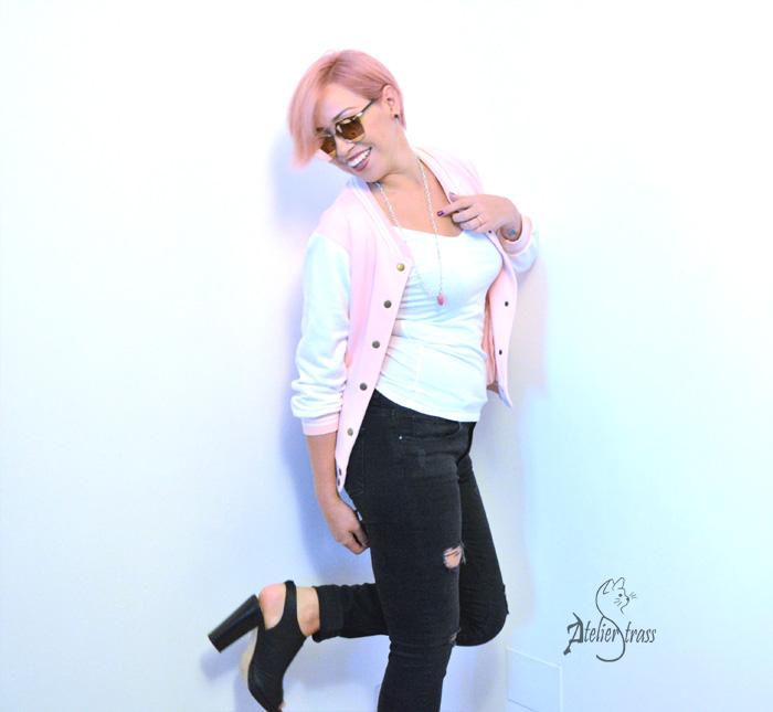 Varsity Jackets pink