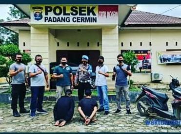 2 Warga Hanura Ditangkap Jajaran Polsek Padang Cermin