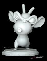 "Dreamworks/Movie Animation Park Studios - ""Gargoyle2""- character maquette by Pierre Rouzier"