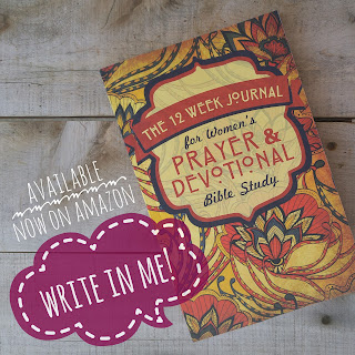The 12 Week Journal for Womens Prayer and Devotional Bible Study by 123 Journal It Publishing