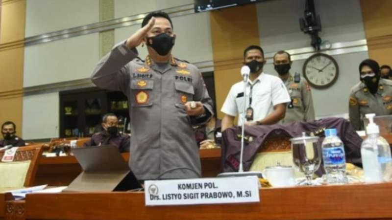 Secara Aklamasi, Komisi III DPR Setujui Komjen Listyo Sigit Prabowo Sebagai Kapolri