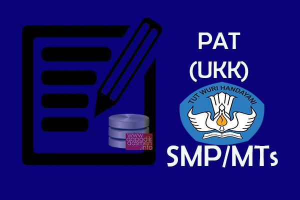 Anda Mencari Soal UKK PAT Bahasa Sunda Kelas 8 SMP MTs? Silahkan Download Gratis Contoh Soal PAT (UKK) Bahasa Sunda SMP/MTs Kelas 8 K13, Soal UKK/PAT Bahasa Ingris SMP/MTs Lengkap dengan Kunci Jawaban