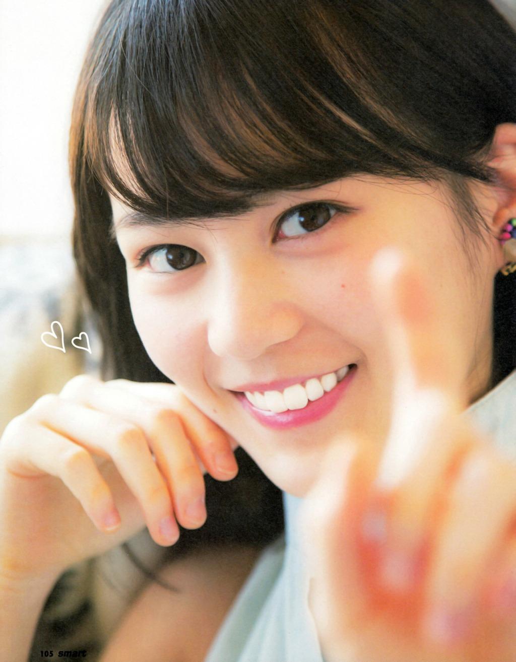 Ikuta Erika 生田絵梨花 Nogizaka48, Smart Magazine 2016 No.04-05