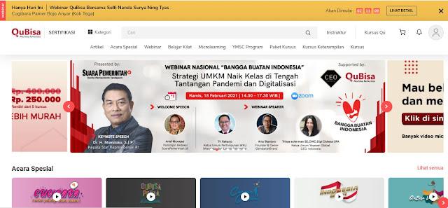 qubisa kursus online indonesia