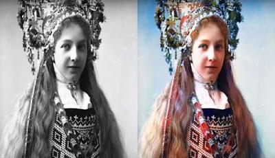 تطبيق تحويل الصور القديمة ذات اللونين الأبيض والأسود الى صور ملونة Colorize Images