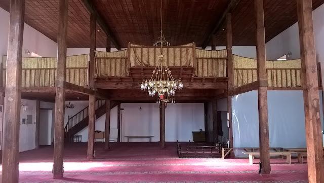 Honsalar Camii içi. Kastamonu