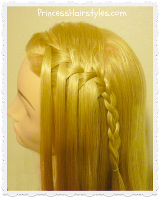 Waterfall braid maker review and tutorial.