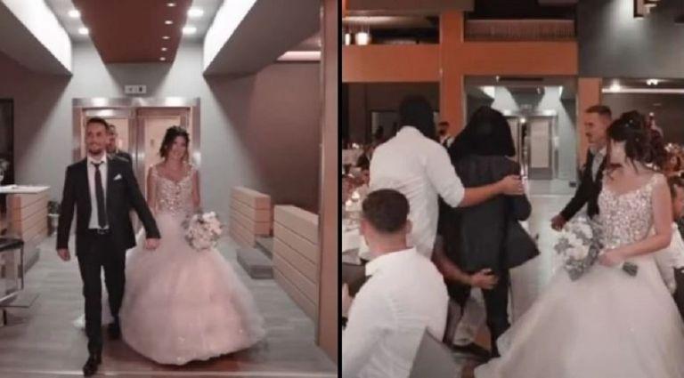 Κουκουλοφόροι απήγαγαν τον γαμπρό μόλις άρχισε να παίζει ο ύμνος του Ολυμπιακού στον γάμο (vid)