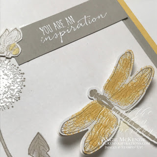 By Angie McKenzie for Around the World on Wednesday Blog Hop; Click READ or VISIT to go to my blog for details! Featuring the Dragonfly Garden Bundle and the Garden Wishes Stamp Set which are included in the Dandy Garden Suite in the January-June 2021 Mini Catalog by Stampin' Up!®; #favoriteinspirationsource #stampinup #cardtechniques #cardmaking #dragonflygardenbundle #gardenwishesstampset #dandygardensuite #dragonflypunch #siliconecraftsheet #spongebrayer #gelpresstechnique #heatembossing #fussycutting #naturesinkspirations #stampinblends #handmadecards #januaryjune2021minicatalog #janjun2020minicatalog #stampinupinks #stampingtechniques #awowbloghop #aroundtheworldonwednesdaybloghop