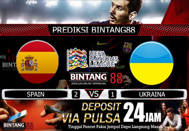 PREDIKSI SPAIN VS UKRAINA 07 SEPTEMBER 2020