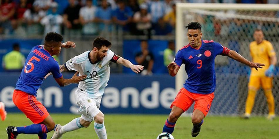 موعد مباراة الارجنتين وكولومبيا في كوبا امريكا