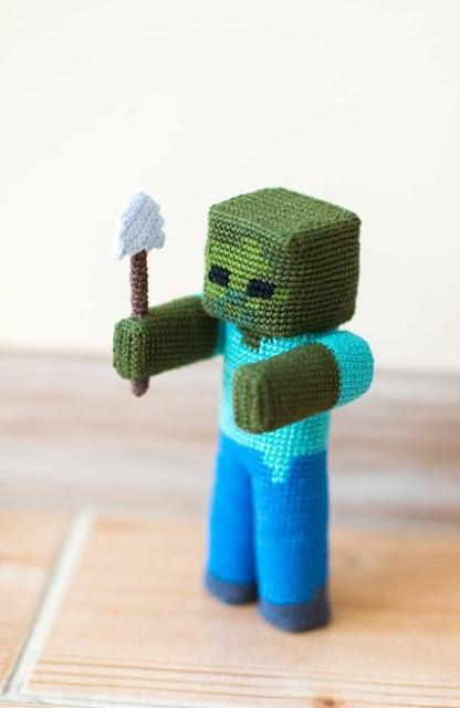 Minecraft Crochet Toy Patterns! | 640x416