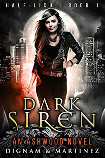 Dark Siren by Dignam and Martinez | cover love