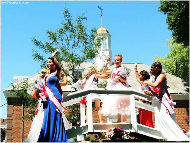 Miss Desfile del 4 de Julio de Bristol