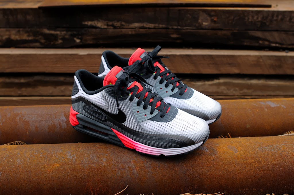 NIKE AIR MAX LUNAR90 WHITE BLACK ANTHRACITE VOLT