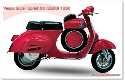 Harga Vespa Bekas antik SS90 Produksi Tahun 1966