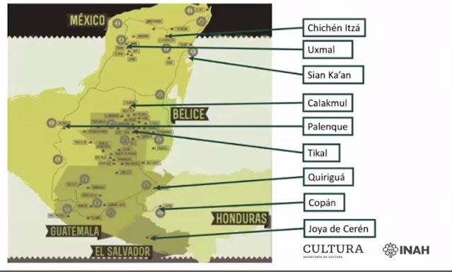 El Mundo Maya y su contribución al Patrimonio Mundial. Foto: captura de pantalla INAH