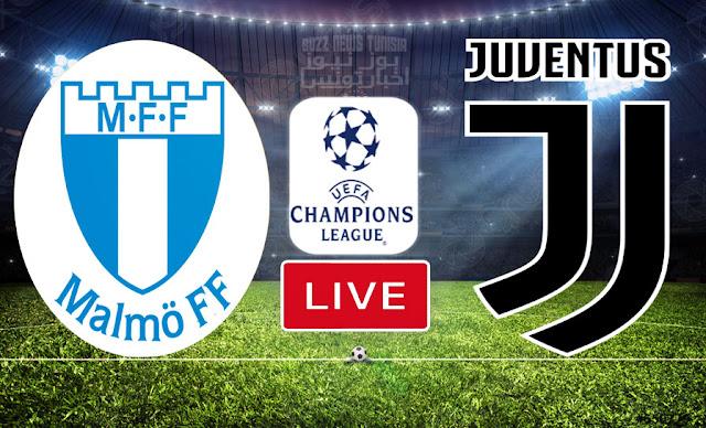 بث مباشر   مشاهدة مباراة مالمو ضد جوفنتوس في دوري أبطال أوروبا