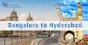 Bangalore To Hyderabad Cab   Hyderabad to Bangalore Cab Services