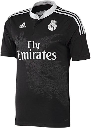 b55442eb89 Camisaria Futebol Clube  Camisa preta do Real Madrid