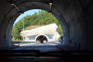 Akçakoca'dan Ereğli'ye giderkenki tüneller.