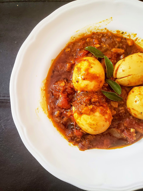 Kerala Egg Roast, Kerala Egg Curry