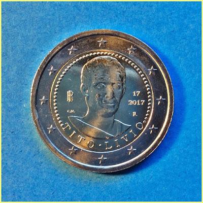 2 Euros Italia Tito Livio