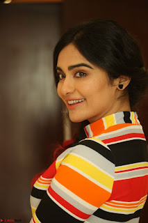 Adha Sharma in a Cute Colorful Jumpsuit Styled By Manasi Aggarwal Promoting movie Commando 2 (102).JPG