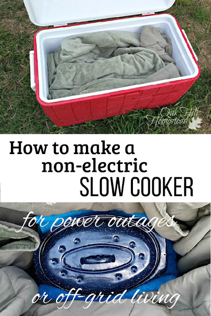 How to make a non-electric slow cooker from items you already have at home.