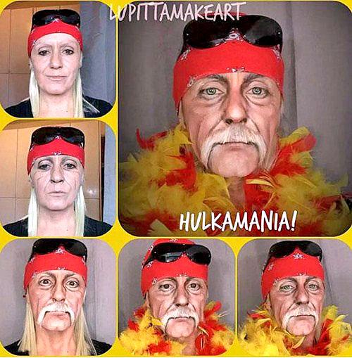 Disfraz de Carnaval de Hulk Hogan
