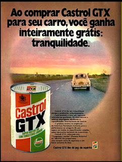propaganda Gastrol GTX - 1973, década 70, Gastrol anos 70, Oswaldo Hernandez,