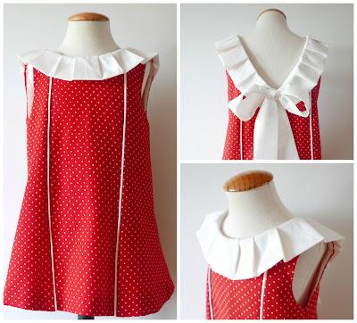 Cómo Hacer Un Vestido De Niña Con Lazo En La Espalda