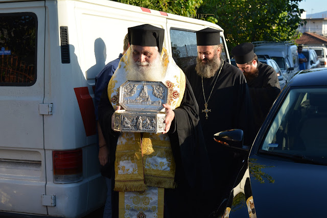 O Μητροπολίτης Αργολίδος στις εορταστικές εκδηλώσεις στο Ησυχαστήριο Αγίου Κυπριανού Παναιτωλίου