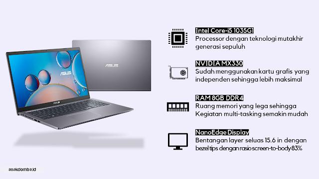 Dapur Pacu Asus VivoBook A516