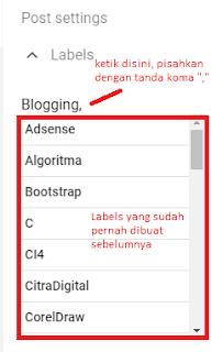 Cara Lengkap Setting SEO di Posting atau Artikel Blogger Terbaru