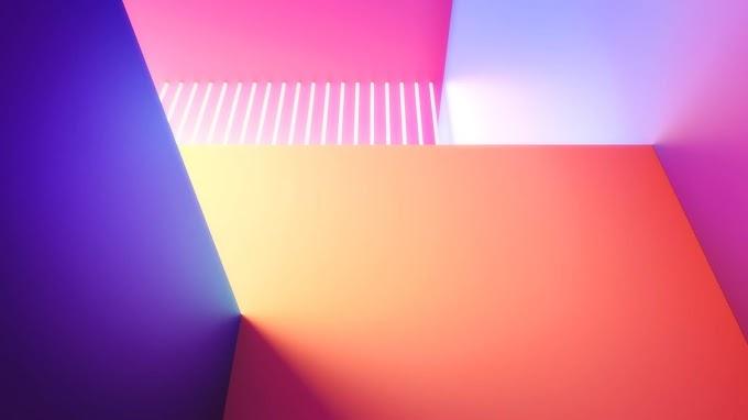 Papel De Parede 3D Abstrato Celular