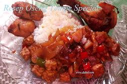 Resep Oseng Tempe Special ala Didied