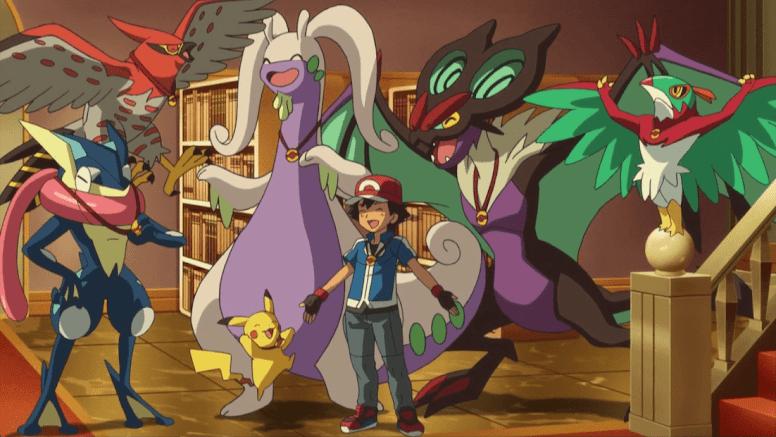 Time Ash Liga Pokémon Kalos