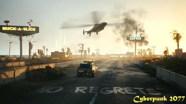 Révision de Cyberpunk 2077 sur la console PS4 de Sony.